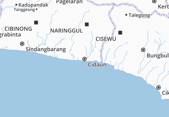 Mapa Cidaun