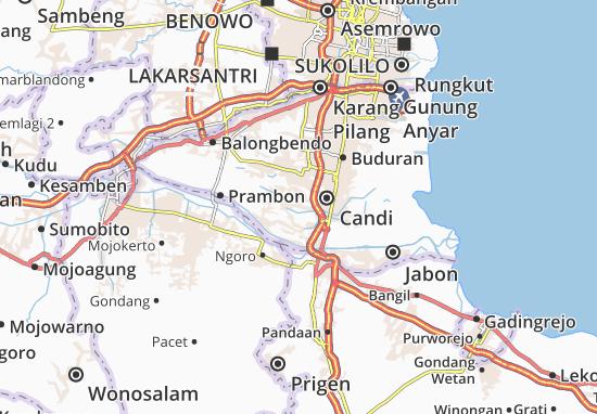 Tulangan Map