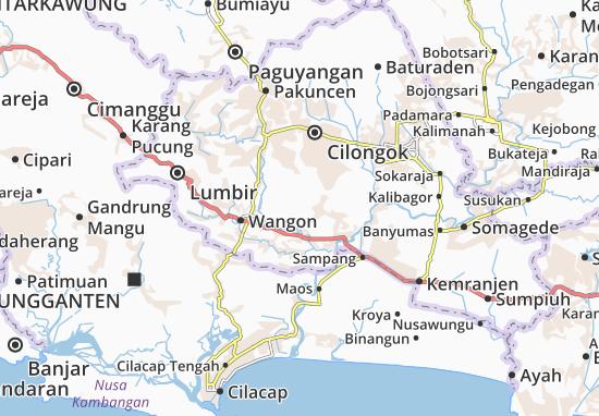 Purwojati Map