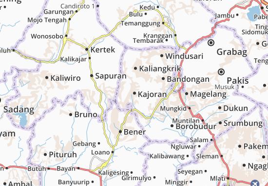 Kajoran Map