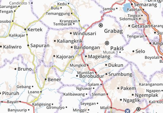 Mertoyudan Map