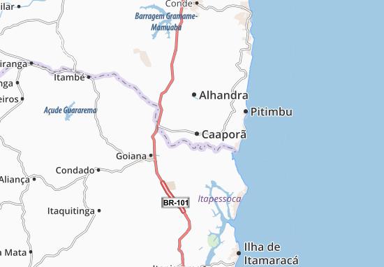 Mapas-Planos Caaporã