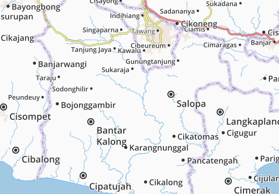 Cibalong Map