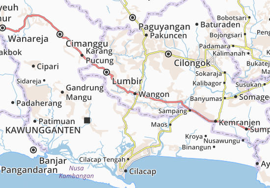 Wangon Map