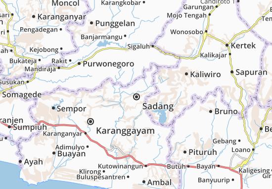 Sadang Map