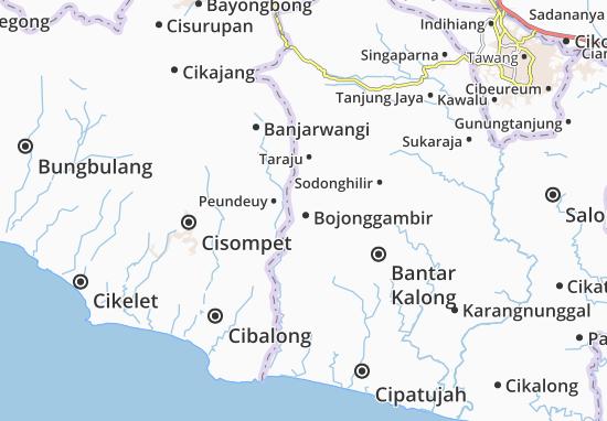 Bojonggambir Map