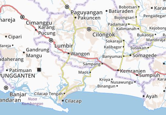 Jatilawang Map