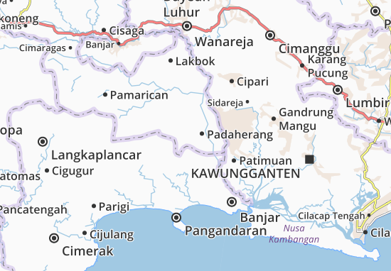 Padaherang Map