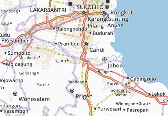 Porong Map