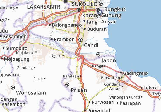 Gempol Map