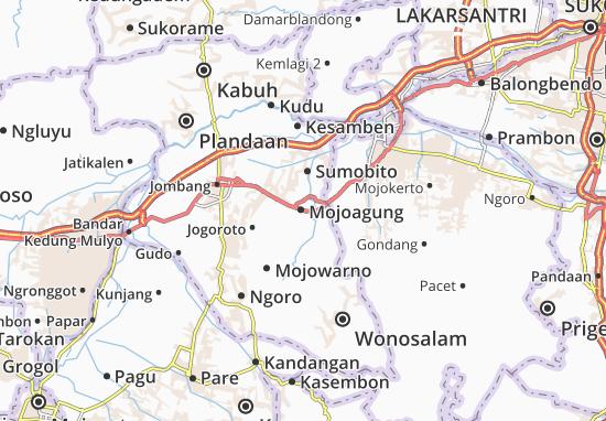 Carte-Plan Mojoagung