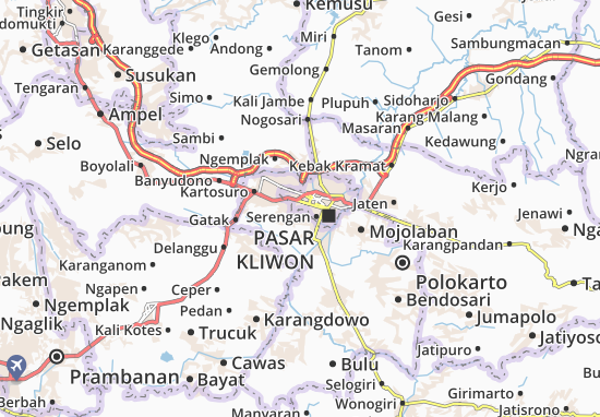 Mapas-Planos Laweyan