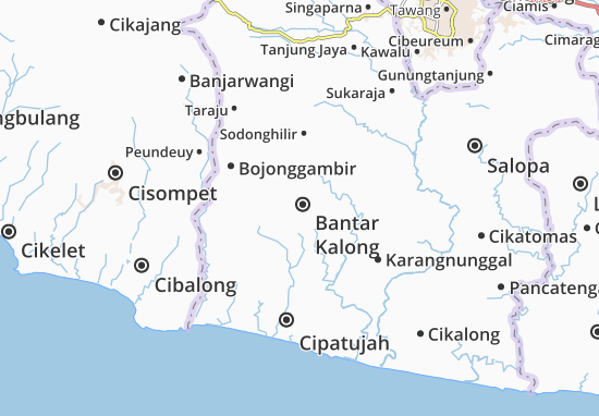 Mappe-Piantine Bantar Kalong