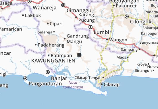 Kawungganten Map