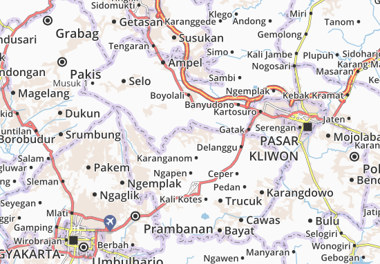 Mappe-Piantine Tulung