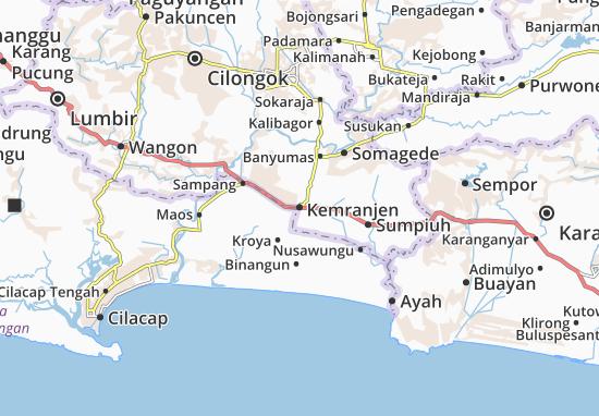 Kemranjen Map