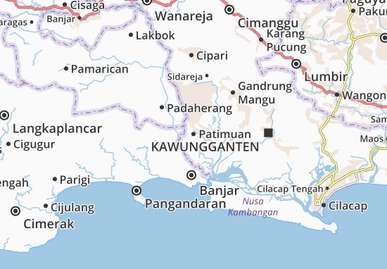 Patimuan Map
