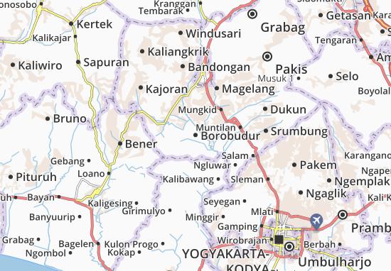 Mappe-Piantine Borobudur