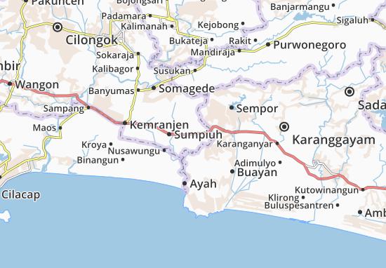 Tambak Map