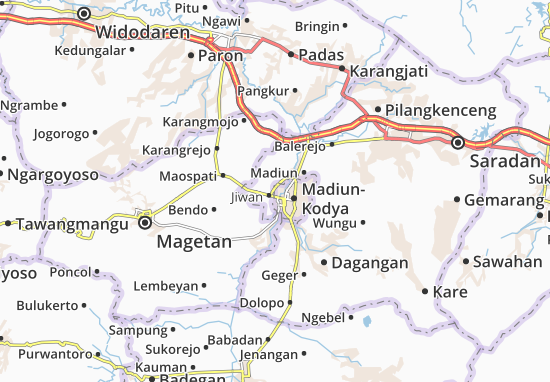 Mappe-Piantine Mangunharjo