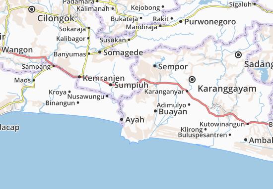 Rowokele Map