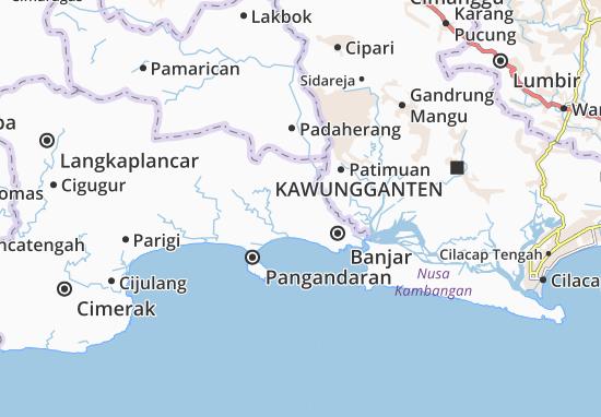 Kalipucang Map