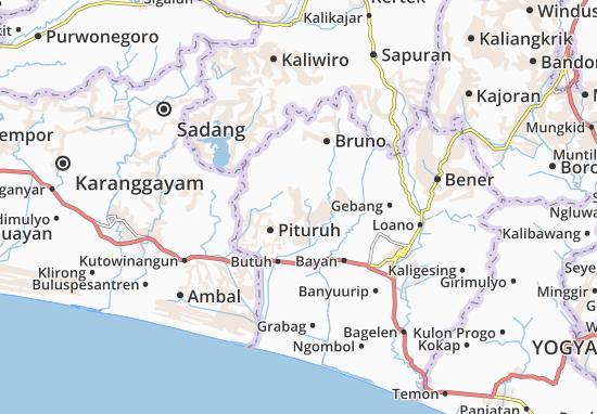 Kemiri Map