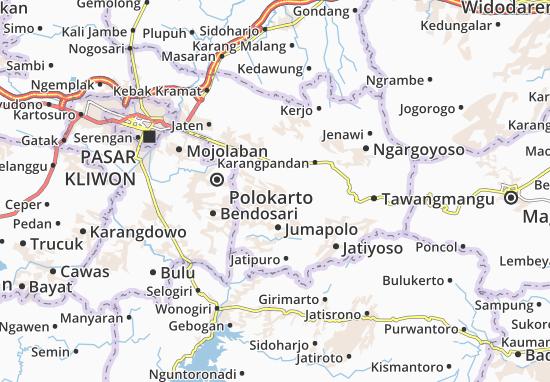 Mappe-Piantine Jumantoro