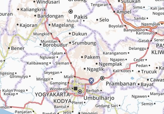 Mappe-Piantine Pakem
