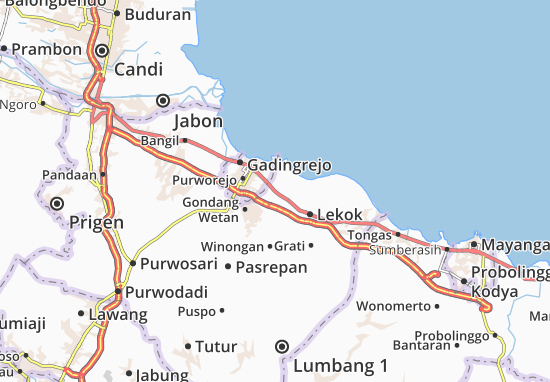 Rejoso Map