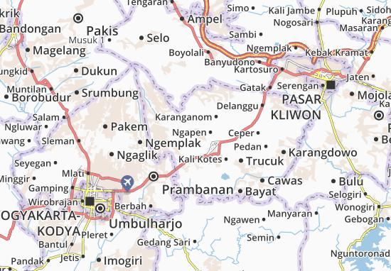 Mappe-Piantine Karangnongko