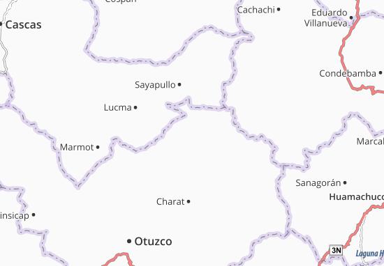 Huaranchal Map