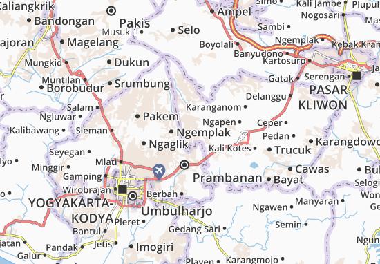 Mapas-Planos Manisrenggo