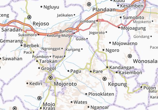 Plemahan Map