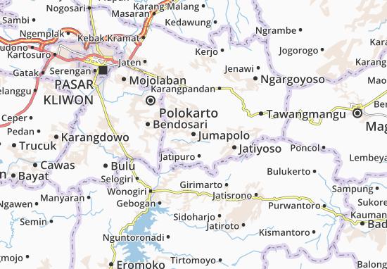 Mappe-Piantine Jumapolo