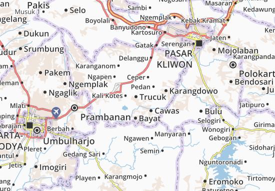 Mappe-Piantine Trucuk