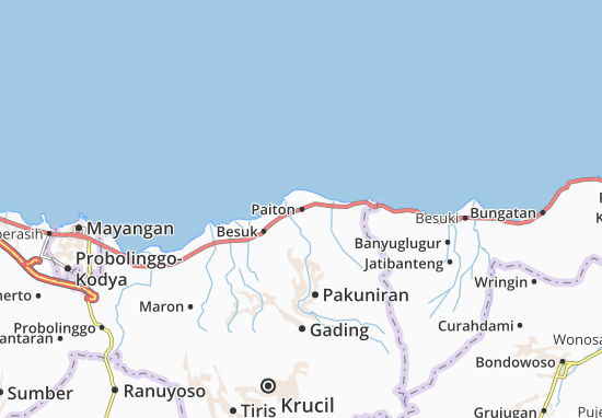Paiton Map