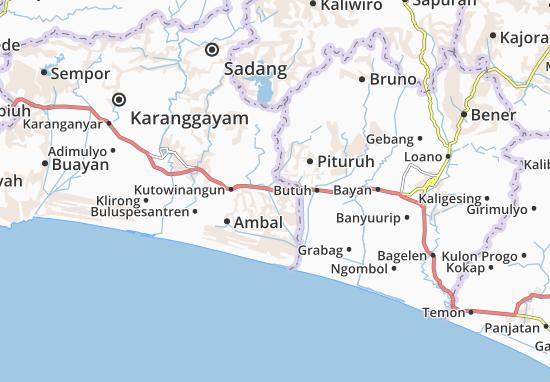 Prembun Map