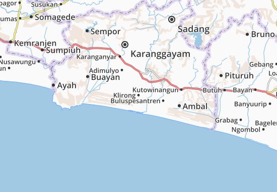 Klirong Map