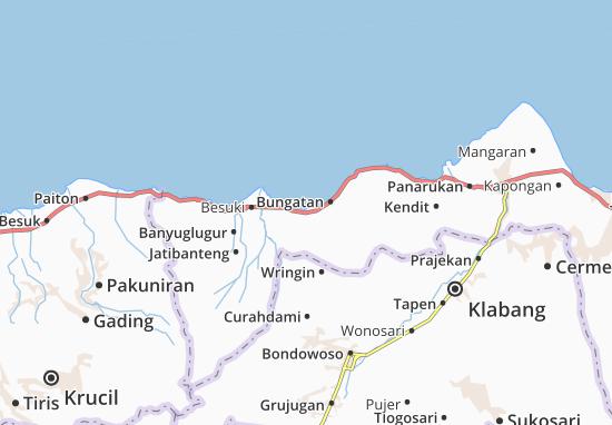Mlandingan Map