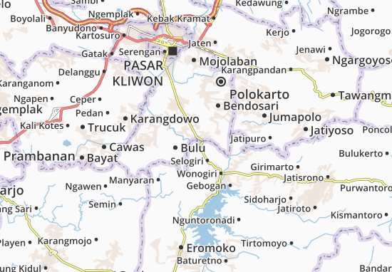 Mappe-Piantine Nguter