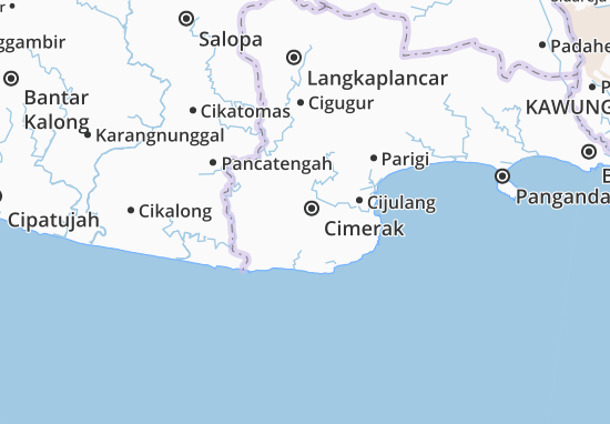Cimerak Map