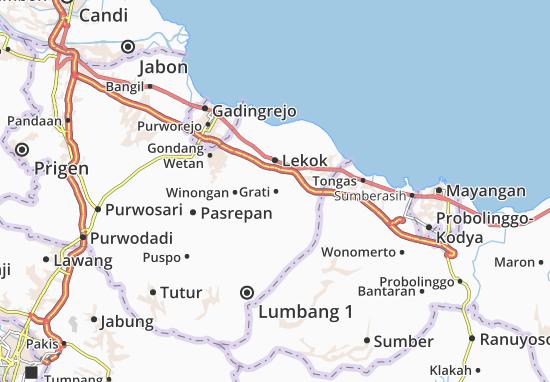 Grati Map