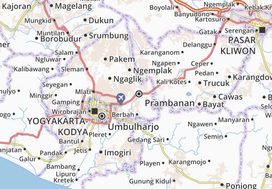 Mapas-Planos Kalasan