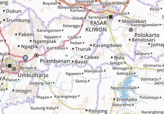 Mappe-Piantine Cawas