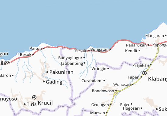 Banyuglugur Map