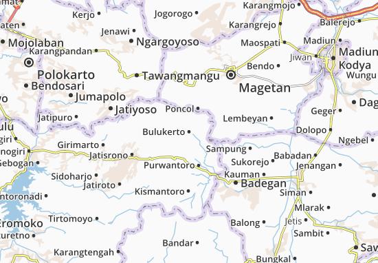 Mappe-Piantine Bulukerto
