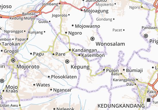 Kasembon Map
