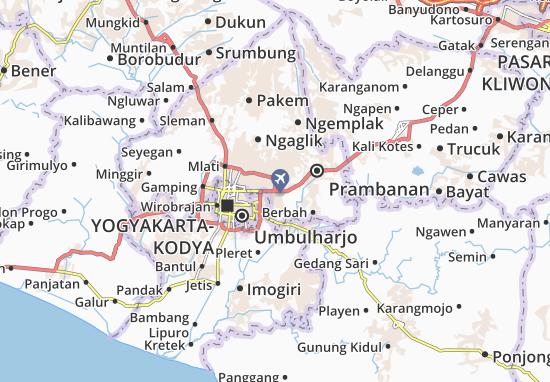 Mapa Depok