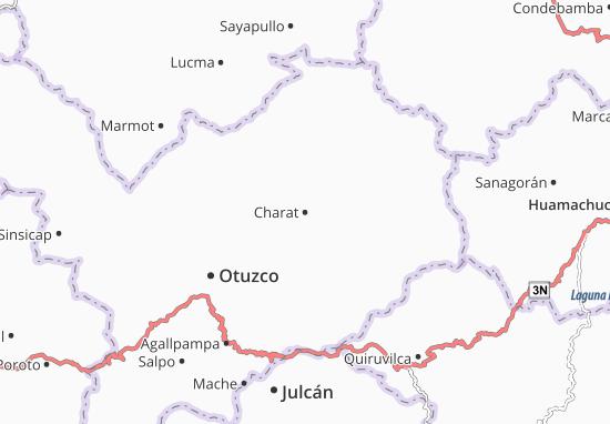 Kaart Plattegrond Charat